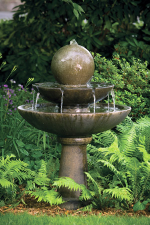"46"" Tranquility Sphere Spill Fountain"