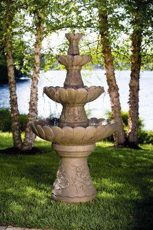 "70"" Four Tier Hummingbird Fountain"