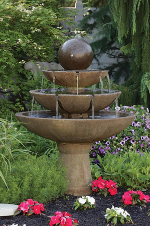 """55"""" Tranquility Sphere Spill Fountain"""
