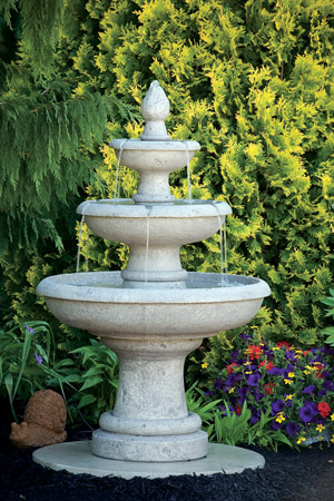 "50"" Three Tier Picasso Fountain"