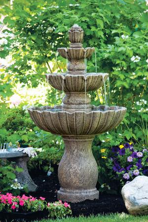 """54"""" Mirabella Scallop Fountain"""