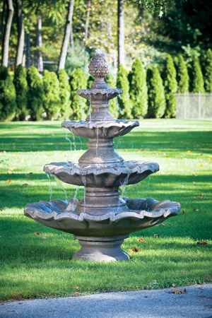 """80"""" Large Four Tier Fountain"""