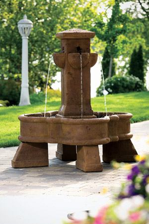 "55"" Sienna Place Fountain"