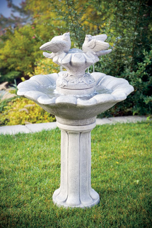 """46"""" Classical Doves of Love Fountain"""