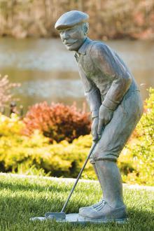 """35"""" Nostalgic Golfer-Man"""