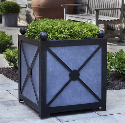 "25"" Square Villandry Planter, Medium - CALL TO ORDER"