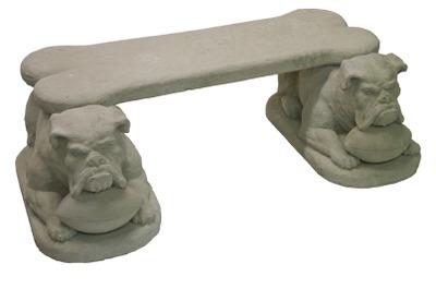 Bulldog Bench Set