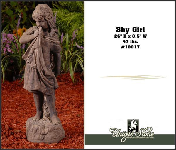 """26"""" Shy Girl Unique Stone"""