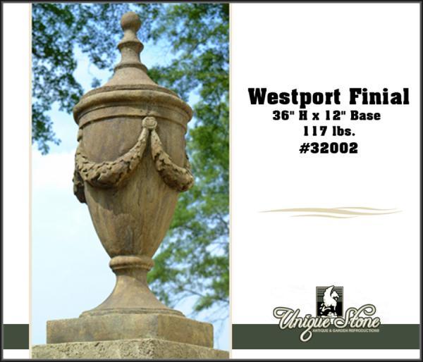 """36"""" Westport Finial"""