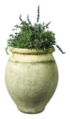 Aubergine Oil Jar