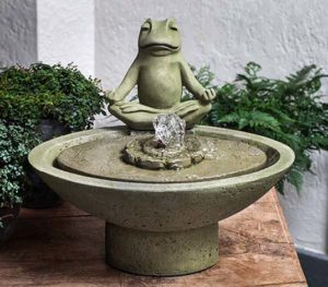 "15"" Garden Terrace Meditation Fountain - CALL TO ORDER"