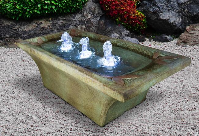 "13"" Deco Motif Fountain"