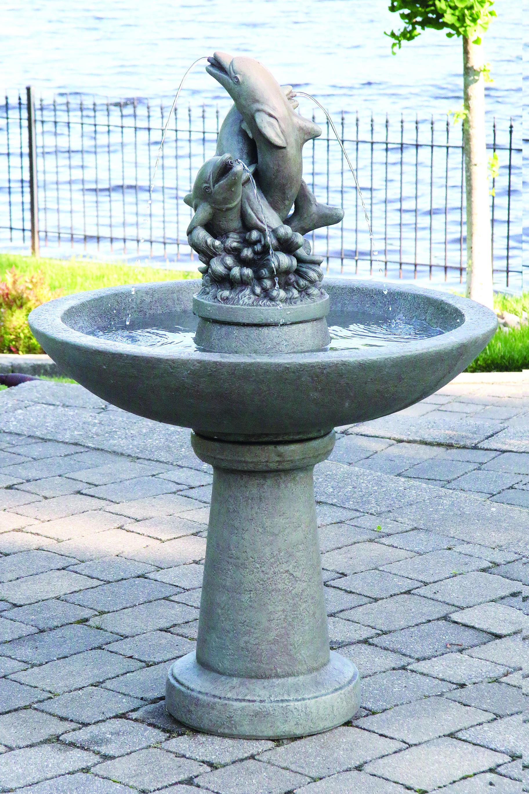 """46"""" Dolphin Fountain"""