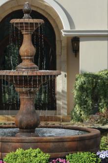 "100"" 2-Tier Hampton Fountain with Surround (No Pool)"