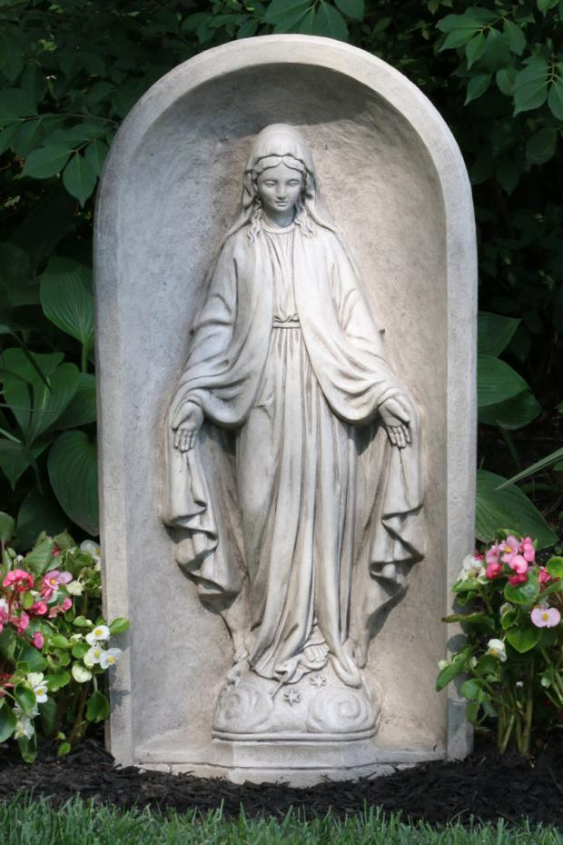 """30"""" Blessed Mother & Grotto (One Piece)"""