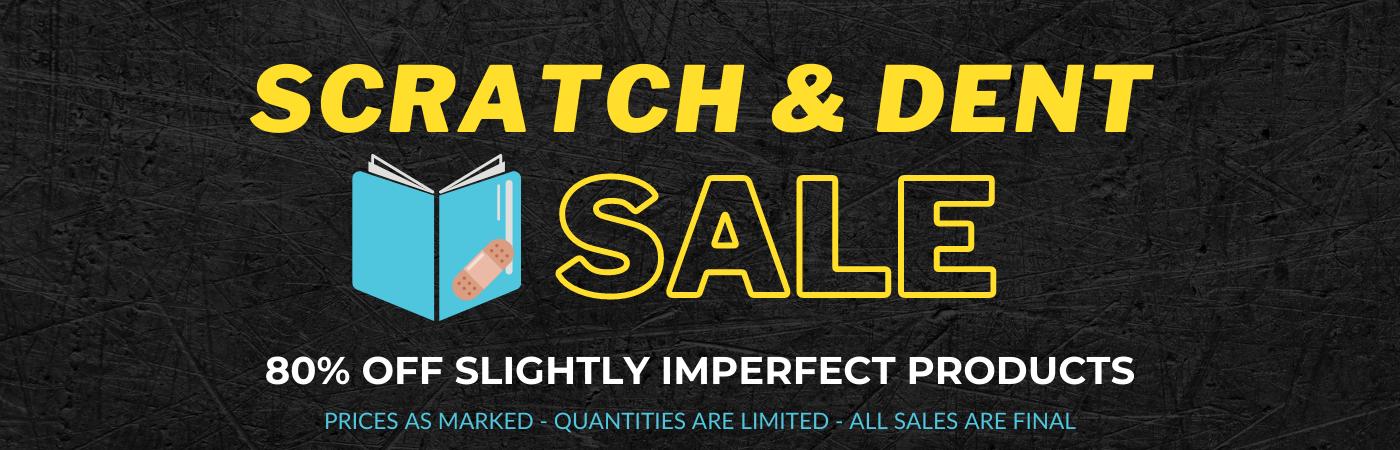 Scratch & Dent Sale