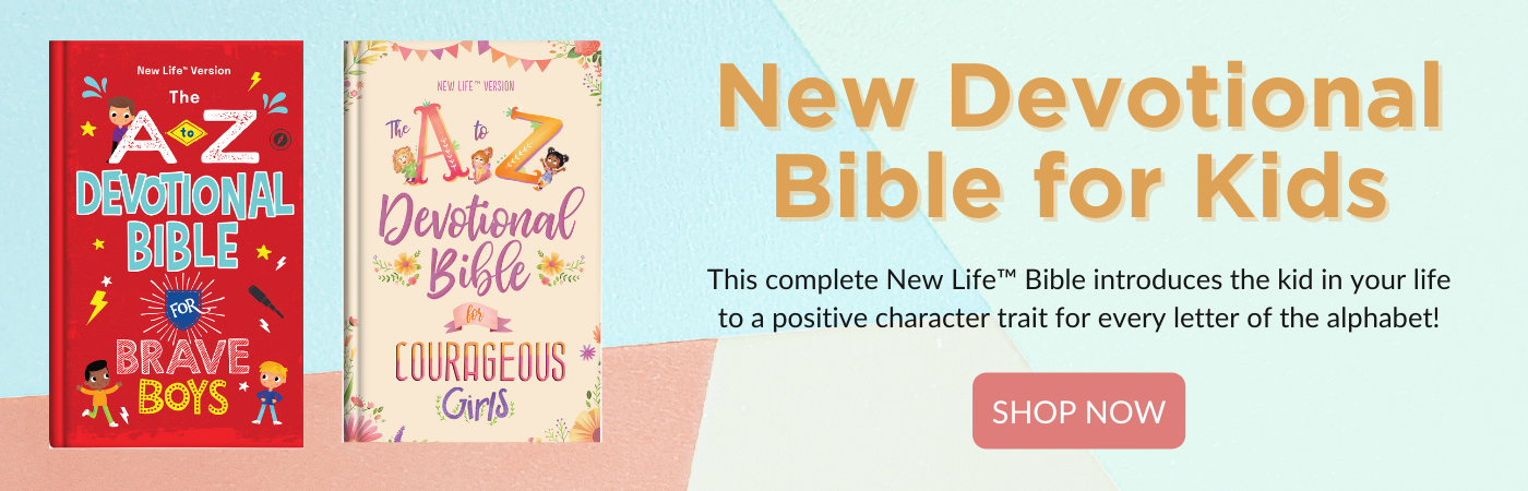 A to Z Devotional Bibles for Brave Boys and Courageous Girls