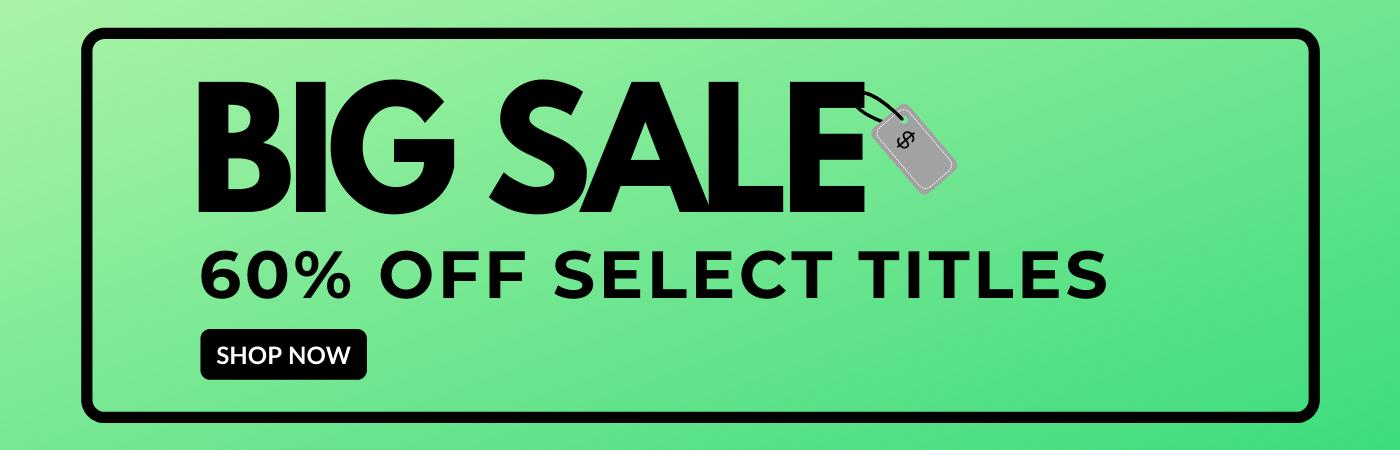Big Sale - 60% Off