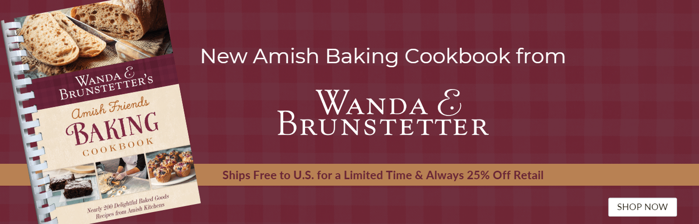 New Amish Friends Baking Cookbook