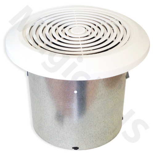 "Bathroom Exhaust Fan Vent - 7"" Round"