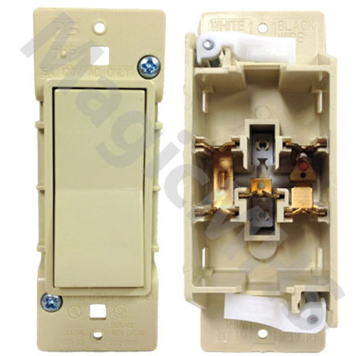 Ivory Snap on designer switch