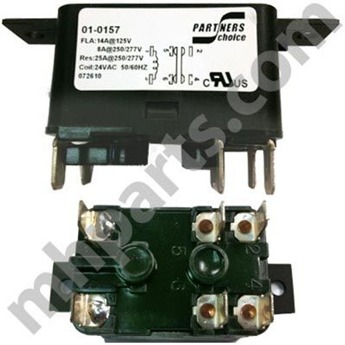 Intertherm / Nordyne / Revolv 24v Relay 01-0157