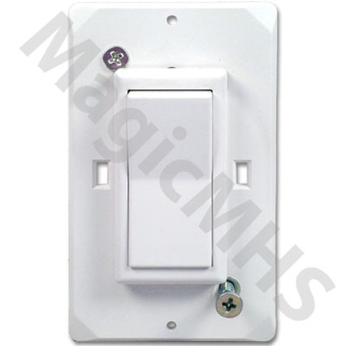 Wirecon Self Contained Decor Style Switch - White