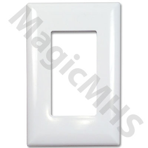 Wirecon Cover Plate for Decor Style Switch- White