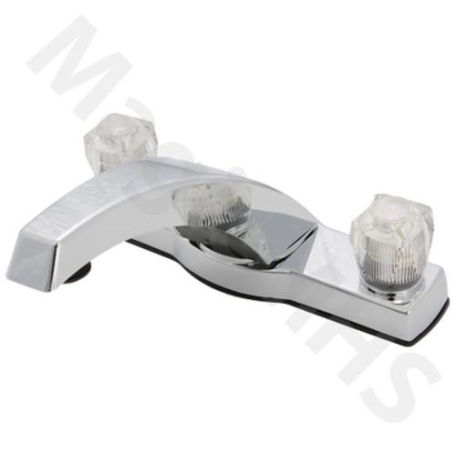 2-handle deck mount faucet