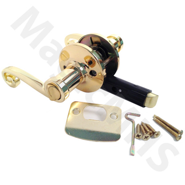 Interior Privacy Lever Door Knob