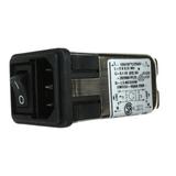 10CFS1  TE Connectivity  Module PWR ENT RCPT IEC320-C14 PNL