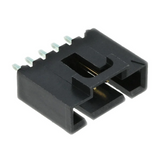 70543-0004 Molex Connector Shrouded Header HDR 5 POS 2.54mm Solder ST Thru-Hole