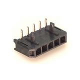 Pack of 2  0436500500  MOLEX  CONNECTOR HEADER R/A 5POS 3MM :ROHS