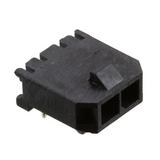 Pack of 2  0436500200  MOLEX  CONNECTOR HEADER R/A 2POS 3MM :ROHS