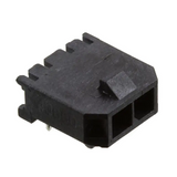 Pack of 2  0436500200  MOLEX  CONNECTOR HEADER R/A 2POS 3MM :ROHS