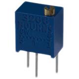 """3266W-1-203 Bourns Trimmer Resistors - Through Hole 1/4"""" 20Kohms 10%"""