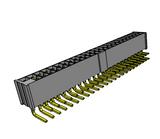 "SAMTEC IPL1-124-01-S-D-RA-P .100"" Mini Mate Isolated Power Terminal Strip, Cable Mate"