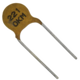 Pack of 10  5OQ101KOAAM  AVX  Ceramic Capacitor 100pf 500v Y5P 10% Radial