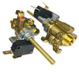 GH-400-016 Factory New Surface Burner Gas Valve LP 65mbar Gh-486 Hestan 020403