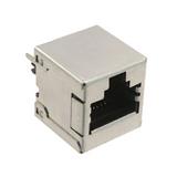 Pack of 2  85508-50001  Molex  Connector Modular Jack 8p8c Vertical Shielded Cat5e