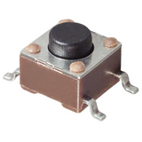 Pack of 19  FSM4JSMATR  TE Connectivity  Tactile Switches SPST-NO 0.05A 24V SMT :RoHS,Cut Tape