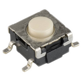 Pack of 12  B3S-1000 OMRON Switch Tactile N.O. SPST Round Button Gull Wing 0.05A 24VDC 500000Cycle 1.57N SMD: Cut Tape