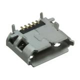 Pack of 5  10103594-0001LF  Amphenol FCi  USB Connectors Receptacle USB2.0 Micro B SMD R/A :RoHS,Cut Tape