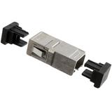 6278348-6  TYCO ELECTRONICS  Fiber Optic Connector panel mount 2 hole