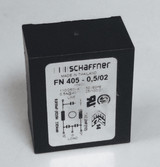 1pc FN405-0,5/02 SCHAFFNER 0.5A 250 V ac 400Hz PCB Power Line Filter, with Pin Terminals