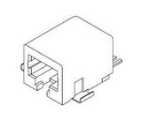 Pack of 10  0441440017  Molex  Connector Jack Modular R/A 6POS 1.27mm SMD 2 Terminal 1 Port Cat 3