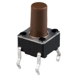 Pack of 10  TL1105BF100Q   E-Switch  Switch Tactile SPST-NO 0.05A 12V  Round Plunger  Thru-Hole
