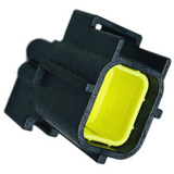 184246-1 Connector Housing RCP 4 POS 5mm Crimp ST Cable Mount Black Package Automotive
