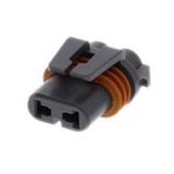 12059181 Automotive Connectors 2P FM MD GRY CON ASY 280 SERIES 30 AMPS