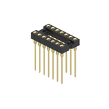 Pack of 10   123-13-314-41-001000  Component Sockets 14Position 2Row DIP Gold Contact Plating :RoHS